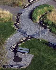 Tanner Springs Park by Atelier Dreiseitl, by  Portland, Oregon, USA.