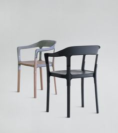 Steelwood chair | Bouroullec Brothers