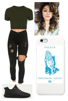"""Untitled #223"" by ilianavaldez on Polyvore featuring Topshop, adidas and AMBRE"