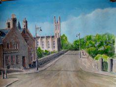 Another attempt at painting Edinburghs Dean Bridge