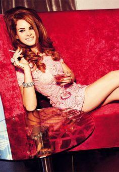 Lana del Rey by Ellen von Unwerth for Vogue Italia, August 2012