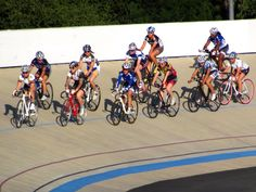 The Hellyer Women's Team Pursuit program started in June 2012. More than 40 women have participated in the program for fun, fitness/training and learning. Five squads were formed (consisting of four women each – many of whom had little to no pursuit experience) to compete at the 2012 USA Cycling Elite Track National Championships – September 2012 in Carson, CA (ADT Velodrome).