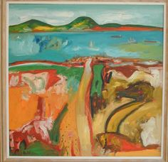 'Highlands to Sea' Oil on Canvas by John Bellany