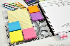 How-to-organize-a-daily-planner ~ Feb 2014 - good ideas and the planner itself is clean and simple