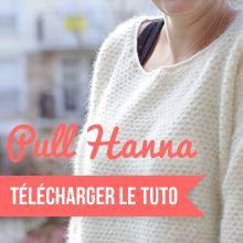 Pull Hanna by les petites envies de Mag