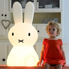 Miffy lamp XL - Børnelamper - Mekavi ApS