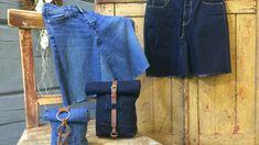 Jeanskjol och väska av ett par gamla jeans   Hobby och hantverk   svenska.yle.fi
