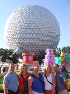 September 2009 - Adult trip to the EPCOT Food & Wine Festival