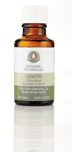 Pure Essential Oil - Lemon will get rid of any negative energy and put a zing in the air.