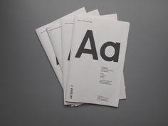 Specimen Le Biot Typeface by Patrick Rijks, via Behance