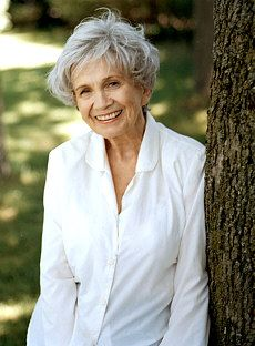 Alice Munro, writer, 82   hey Debbie go look at a NEW BOARD I created ......LIES and look at the first pin....what you think?