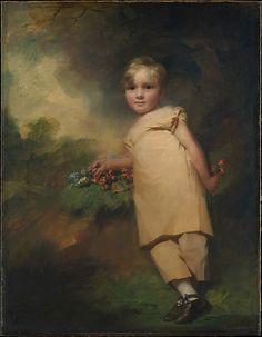 """William Scott-Elliot of Arkleton"" by Sir Henry Raeburn (1815-1816) at the Metropolitan Museum of Art, New York"