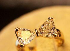 Simply Bow Rhinestone Ring | LilyFair Jewelry