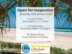 Join us at our open for Inspections today 🏡🧐 Brunswick Heads, Ocean Shores, New Brighton, North Coast, Join, Beach, Water, Outdoor, Image