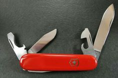 Knives, Swords & Blades Honey Victoria 1973 Elsener Alox Swiss Army Knife Old Swiss Cross W-k Victorinox Always Buy Good Collectible Folding Knives