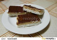 Kokosovokávové řezy recept - TopRecepty.cz Tiramisu, Ethnic Recipes, Food, Essen, Meals, Tiramisu Cake, Yemek, Eten