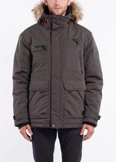 NOIZE- men- BRODY16 - slate Dark Grey, Rain Jacket, Windbreaker, Raincoat, Winter Jackets, Slate, Stuff To Buy, Fashion, Winter Coats