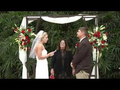 Sweet couple gets wed at Naples Zoo. Videography by Reel Treasures
