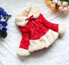 1-PCS-Baby-Toddler-Little-Girls-Faux-Fur-Fleece-Lapel-Coat-Kids-Jacket-Outwear