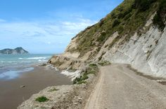 The wild unsealed road out to New Zealand's East Cape http://ontheluce.com/2012/06/28/go-east-the-wild-side-of-new-zealands-north-island/
