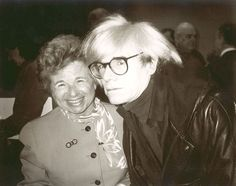 Andy Warhol (American, 1928-1987) Andy Warhol and Ruth Westheimer, circa 1980s gelatin silver print 8 x 10 in. (20.3 x 25.4 cm.) The Andy Warhol Museum, Pittsburgh; Contribution The Andy Warhol Foundation for the Visual Arts, Inc. © The Andy Warhol Foundation for the Visual Arts, Inc. 2001.2.175