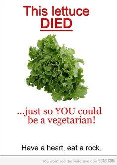 no more vegetables