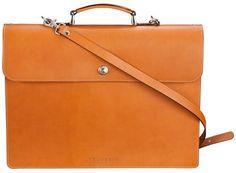 Velorbis Fritz Hansen Leather Briefcase