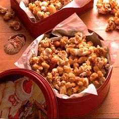 This best-ever caramel corn is made extra special with the addition of mixed nuts.