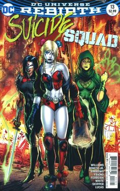 DC Rebirth Suicide Squad comic issue 13 Limited variant