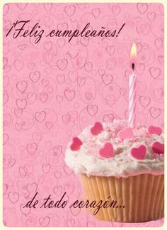 Free Printable With All My Heart Greeting Card Birthday Qoutes, Birthday Pins, Birthday Love, 15th Birthday, Happy Birthday In Spanish, Happy Birthday Images, Happy Birthday Celebration, Happy Birthday Wishes, Happy Birthdays