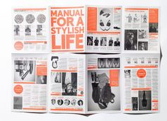 Esquire zine – Manual For A Stylish Life by SeptemberIndustry