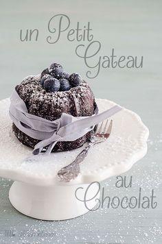 un petit gateau au chocolate by Little Artisan Kitchen
