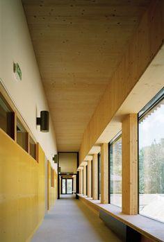 School complex in Rillieux-la-Pape / Tectoniques Architects © Renaud Araud | #wood #madera #techo #design #architecture