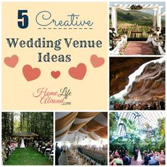 5 Creative Wedding Venues @homelifeabroad.com