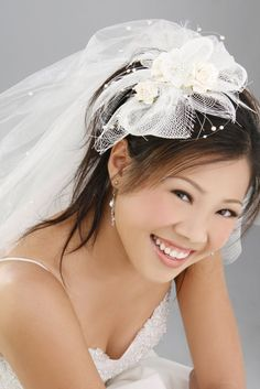 Asian Bride Hairstyle for Women