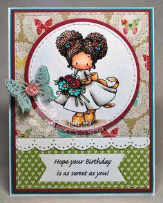 {TI} Sweet Birthday Girl - My Little Stampin Spot