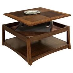 Wilhoite Double Lift Top Coffee Table | Lift Top Coffee Table, Coffee And  Cabin
