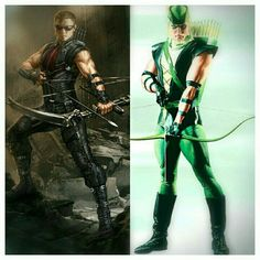 hawkeye and green arrow