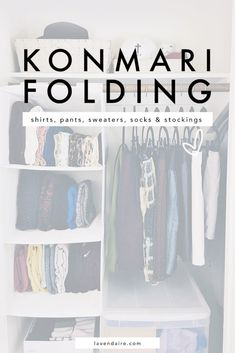 Konmari Folding | How to Fold | Marie Kondo | The Life-Changing Magic of Tidying Up