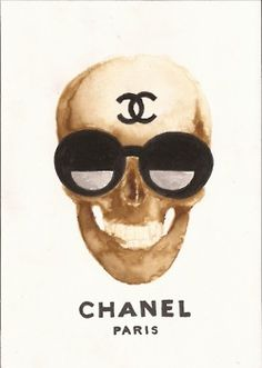 Chanel would be a great piece of artwork for our home and taste