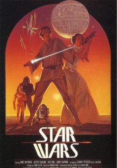 Amazing Star Wars movie art posters