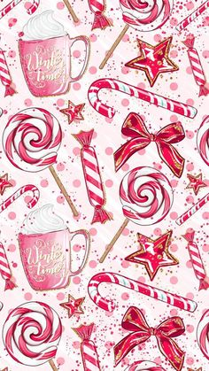 69 New Ideas For Merry Christmas Wallpaper Iphone Xmas Christmas Phone Wallpaper, Holiday Wallpaper, Trendy Wallpaper, New Wallpaper, Pattern Wallpaper, Wallpaper Backgrounds, Backgrounds Iphone Christmas, Christmas Lockscreen, Pink Wallpaper Iphone