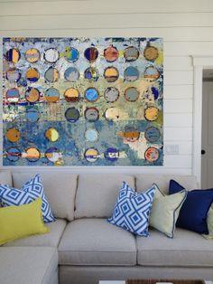 Proposed installation of Jylian Gustlin's artwork