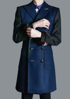 NAVY COAT by Duly Equipped