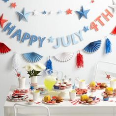 4th of July Party Collection from The Land of Nod