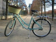 My mode of transportation (along with my bug) when I move to Paris.