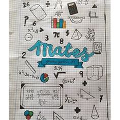 No photo description available. Diy Notebook Cover, School Notebooks, Study Skills, School Notes, Study Notes, Letter Art, Nerdy, Finding Yourself, Doodles