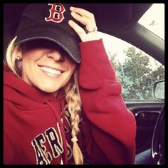 Every girl needs to have a baseball cap.