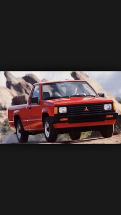 Mitsubishi Mighty Max My First Pick Up Truck