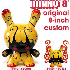 "8"" ANDREW BELL DEEPER ISSUES CUSTOM DUNNY kidrobot android chase 2013 3"" series. $550"